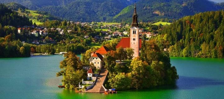 AVUSTURYA ALPLERİ  VE GÖLLER - SLOVENYA
